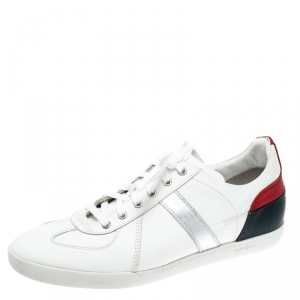 Dior Homme Multicolor Leather Lace Up Low Top Sneakers Size 43