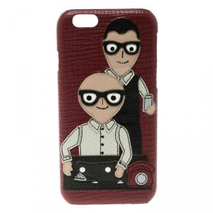 Dolce and Gabbana Red Iphone 6 Designer Case