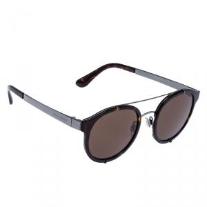 Dolce & Gabbana Havana Brown/ Brown DG2184 Round Sunglasses