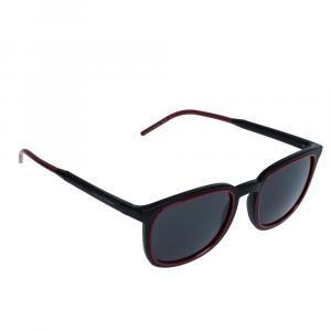 Dolce & Gabbana Matte Black/Grey DG6115 Sunglasses