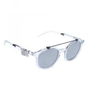 Dolce & Gabbana Light Grey/Mirrored Silver DG6116 Sunglasses