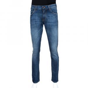 Dolce & Gabbana Blue Denim Regular Slim Jeans IT 48