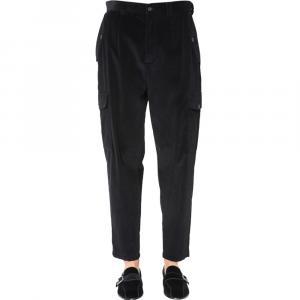 Dolce & Gabbana Black Cargo Pants Size EU 46