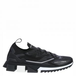 Dolce & Gabbana Black Sorrento Sneakers Size EU 41.5