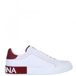 Dolce & Gabbana White Low Sneakers Size EU 43.5