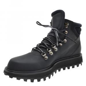 Dolce & Gabbana Black High Top Sneakers Size EU 42.5