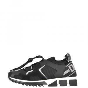 Dolce & Gabbana Black Sorrento Trekking Sneakers Size 43