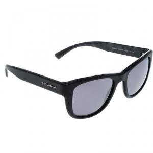 Dolce and Gabbana Black DG4284 Wayfarer Sunglasses