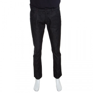 Dolce and Gabbana 14 Gold Black Straight Fit jeans M