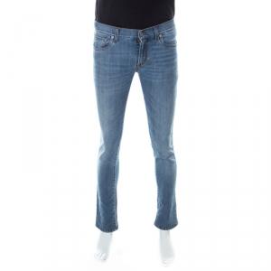 Dolce And Gabbana Blue Light Wash Denim Slim Fit Jeans S