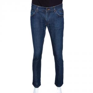 Dolce & Gabbana Indigo Denim Straight Leg Jeans M