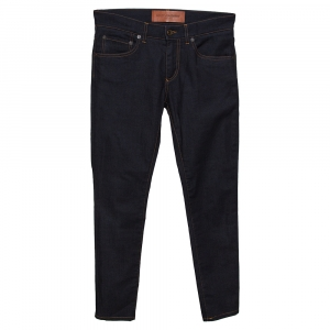 Dolce & Gabbana Indigo Dark Wash Denim Tapered Jeans S