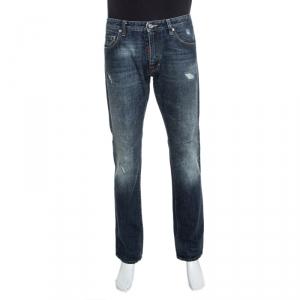 Dsquared2 Blue Medium Wash Denim Jeans M