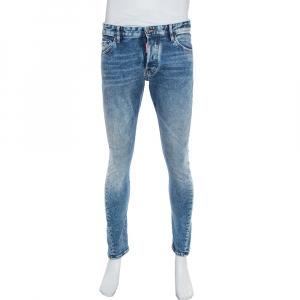 Dsquared2 Blue Denim Twist Jeans M - used
