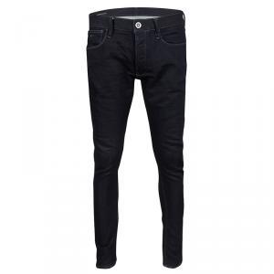 Emporio Armani Indigo Dark Wash Denim Skinny Fit Jeans L