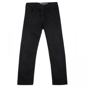 Emporio Armani Black Basic Fit Sean Denim Pants S