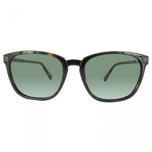 Ermenegildo Zegna Dark Havana/Green EZ0039 Wayfarer Polarized Sunglasses