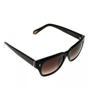 Ermenegildo Zegna Brown/Brown Gradient SZ3611G Wayfarer Sunglasses