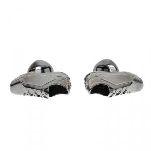 Ermengildo Zegna 3D Sneaker Gunmetal Tone Cufflinks