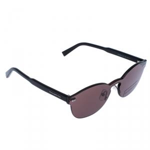 Ermenegildo Zegna Dark Brown EZ0024 Mirror Sunglasses