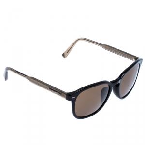 Ermenegildo Zegna Black EZ 0005-F Polarized Wayfarer Sunglasses