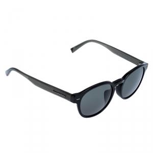 Ermenegildo Zegna Black EZ 0029 Round Sunglasses