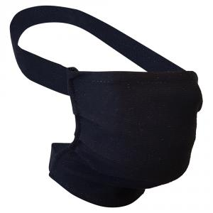 Non-Medical Handmade Black Cotton Face Mask - Pack Of 10 ( Available for UAE Customers Only)