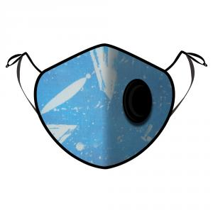 Fine Guard By Caroline Reusable N95 Face Mask, Breezy Blues - Large (Available for UAE Customers Only)