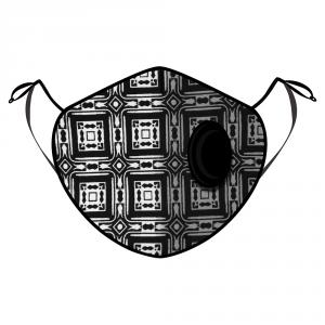 Fine Guard By Caroline Reusable N95 Face Mask, Maze Runner - Large (Available for UAE Customers Only)
