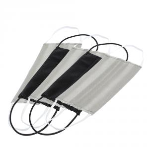 Non-Medical Reusable Grey and Black Face Mask - Pack Of 5 (Available for UAE Customers Only)