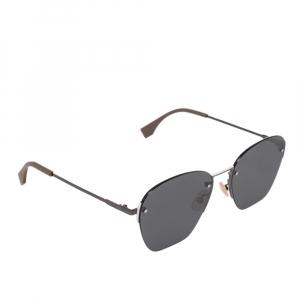 نظارة شمسية فندي FF M0057/S رصاصية/سوداء مربعة