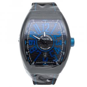 Franck Muller Vanguard Titanium Black & Blue Dial Men's Watch 44 MM