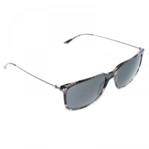 Giorgio Armani Grey Havana AR8063 Frames of Life Wayfarer Sunglasses