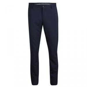 Giorgio Armani Navy Blue Wool Tailored Trousers  XXL