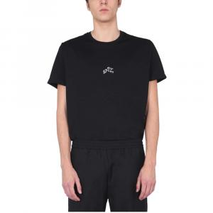 Givenchy Black Abstract Logo Crew Neck T-Shirt size M -