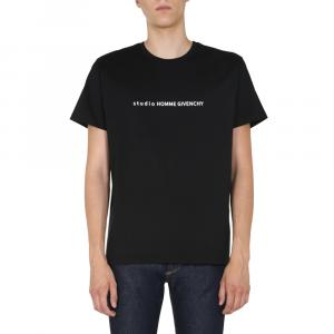 Givenchy Black Studio Homme Givenchy T-shirt Size L -