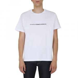 Givenchy White Studio Homme Givenchy T-shirt Size L -