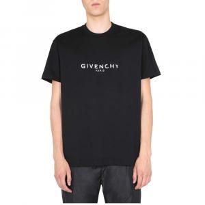 Givenchy Black Oversized Fit T-Shirt Size L -