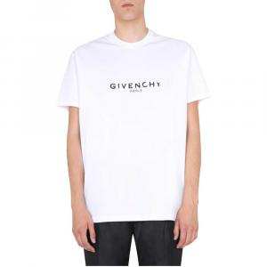 Givenchy White Oversized Fit T-Shirt Size L -