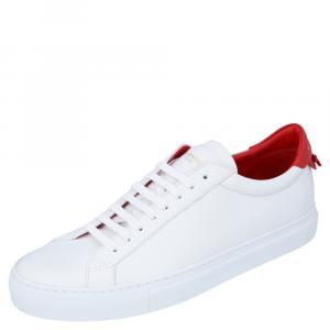 Givenchy White Urban Street Sneakers Size EU 43