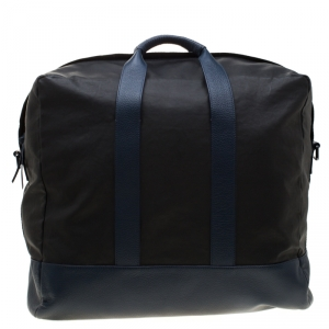 Givenchy Black/Blue Coated Fabric and Leather Limited Edition 75/008 Garment Bag