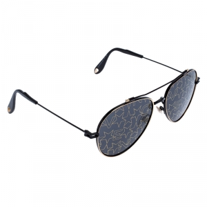 Givenchy Black/Gold GV7057/S Nude Aviator Sunglasses