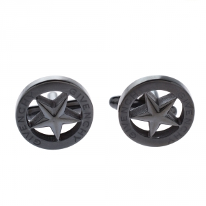 Givenchy Dark Grey Tone Star Cufflinks