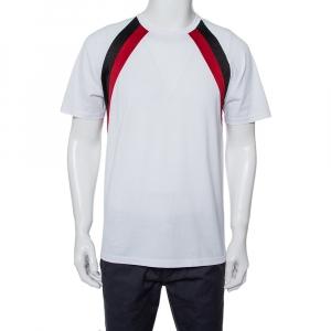 Givenchy White Cotton Crewneck T-Shirt M - used