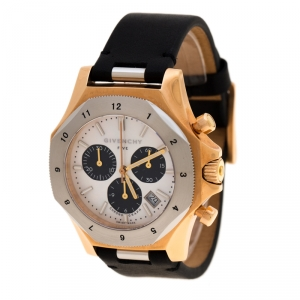 Givenchy Mother of Pearl Rose Gold Plated Steel Five Chronograph GY100131S01 Men's Wristwatch 41 mm