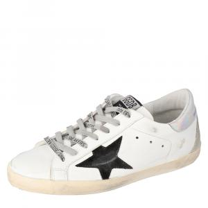 Golden Goose White Superstar Deluxe Size 43