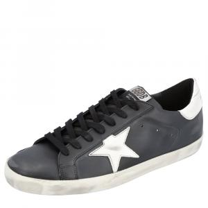 Golden Goose Black Superstar Classic Sneakers Size 43