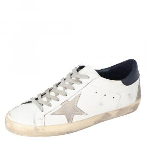 Golden Goose White Superstar low-top sneakers Size EU 44