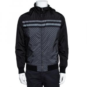 Gucci Black Diamante Hoodie Track jacket S