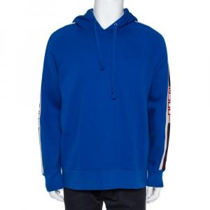 Gucci Blue Hoodie Sweatshirt M